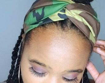 Camo Turban Headband