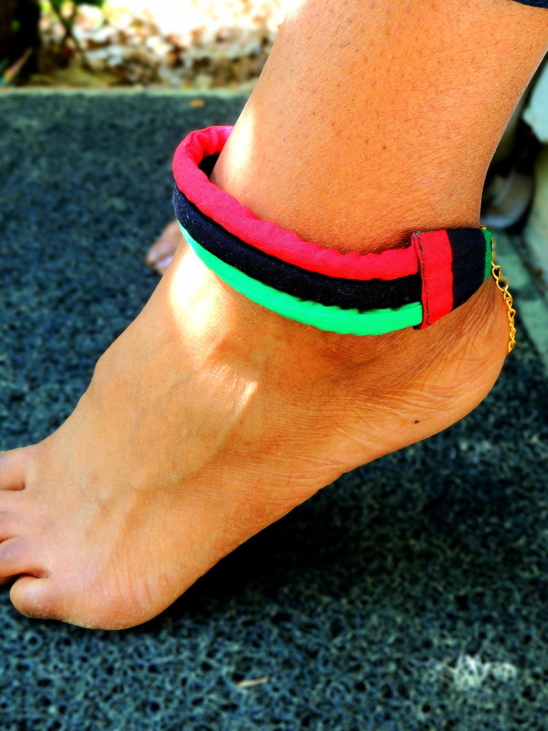 Pan-African Anklet image 0