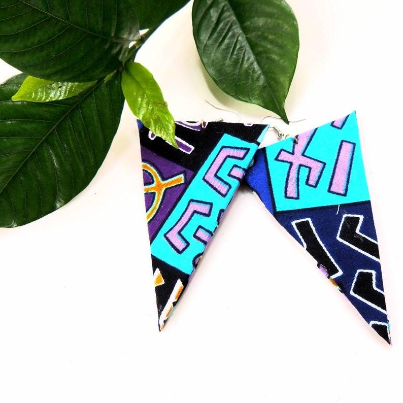 Sipporah African Print Earrings image 0