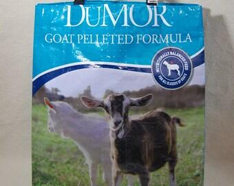 TOTE or MARKET bag, goat