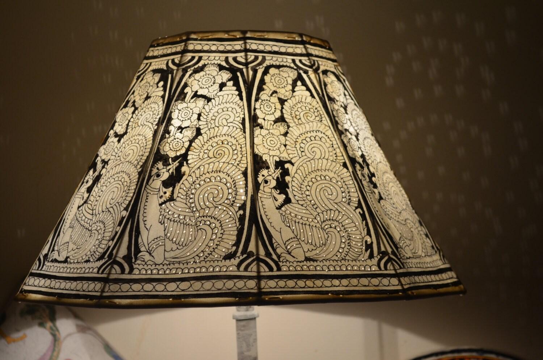 vintage inspir grand abat jour lampe de plancher grand. Black Bedroom Furniture Sets. Home Design Ideas