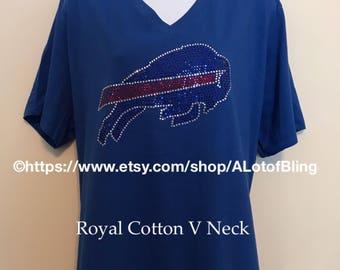 Buffalo Bills Rhinestone shirt e13abbf25