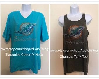 pretty nice e1e91 f13fb Miami dolphins shirt | Etsy