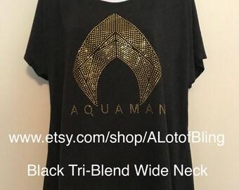 Aquaman Rhinestone T-Shirt