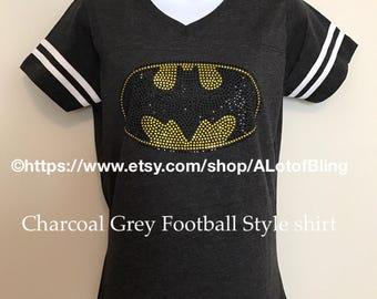 Batman Rhinestone T-Shirt