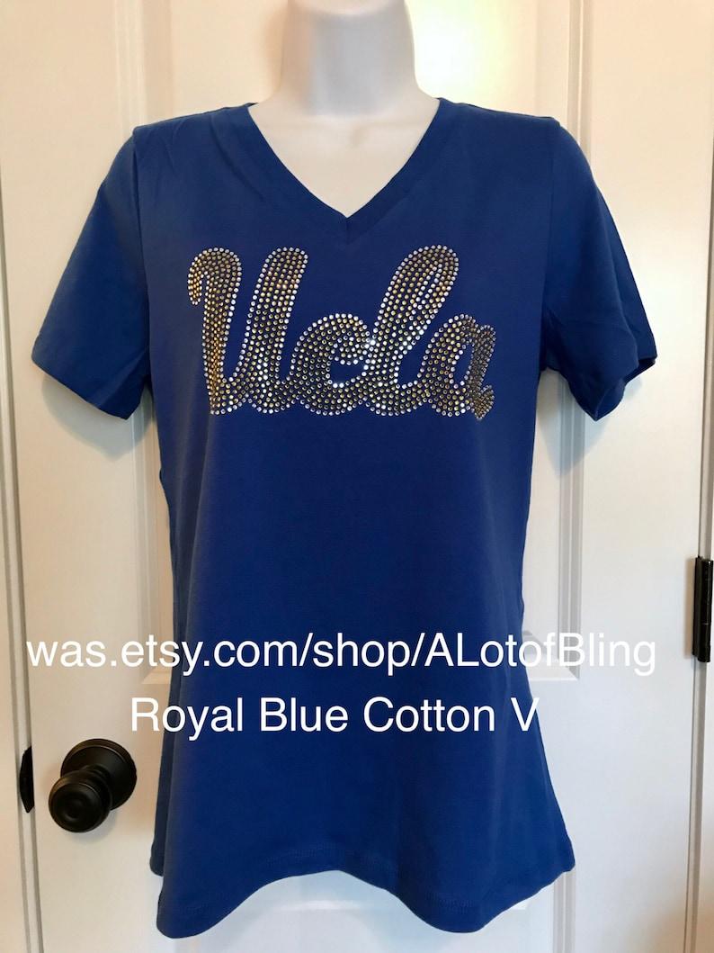 UCLA Script Rhinestone T-Shirt