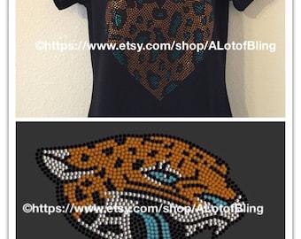 Jaguars Rhinestone T-Shirt