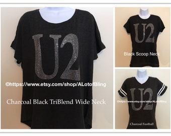 U2 Rhinestone T-Shirt