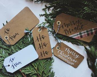 Christmas Gift Tags - Set of 5