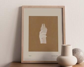 Hands Giclée print