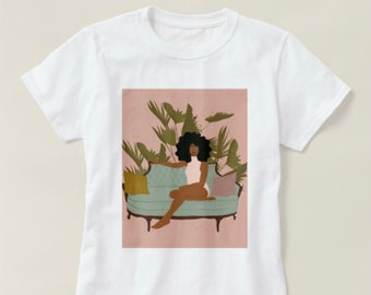 Chilling with the plants T-Shirt