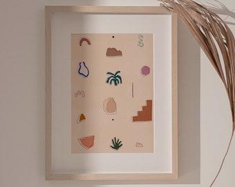Desert vibes Giclée print
