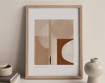 Your dreams can only meet you half way Giclée print