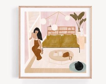 Dream Home Giclée print