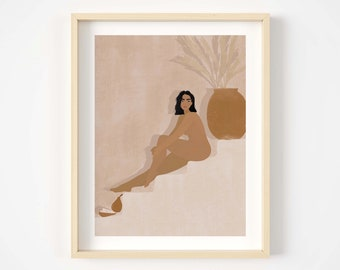 Nude Giclée print