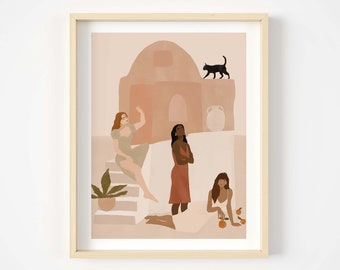 They used to call us witches Giclée print