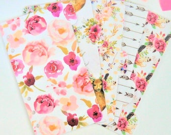 Set of 5 Bohemian Personal / A5 / Pocket Dividers
