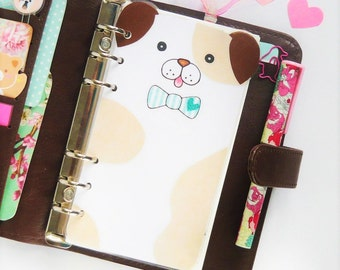 Cute Dog PERSONAL Planner Dashboard