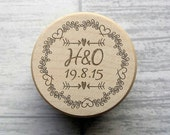 Custom Engraved Ring Box, Wedding, Ring Box, Bride and Groom, Wedding Gift, Wooden, Keepsake, Personalised, Proposal