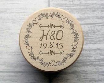 Ring box, Custom Engraved Ring Box, Wedding, Ring Box, Bride and Groom, Wedding Gift, Wooden, Keepsake, Personalised, Proposal