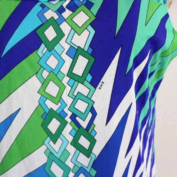 Vintage Emilio Pucci for Formfit Rogers robe and … - image 2