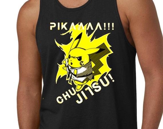 PikAAAA Chu-Jitsu Jiu Jitsu Tank