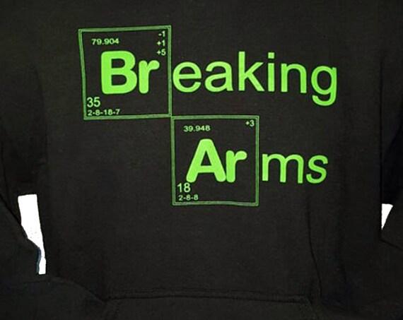 Breaking Arms Jiu Jitsu Hoodie