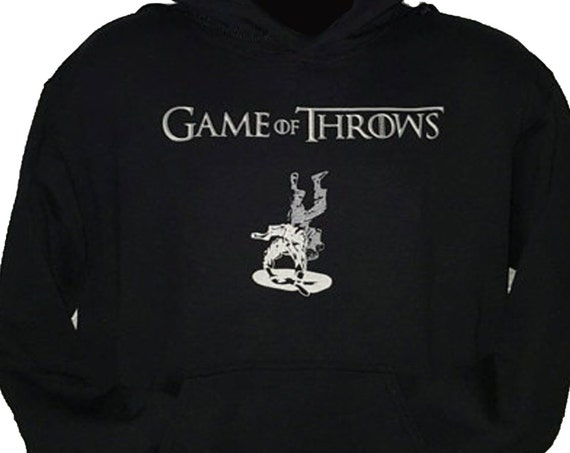Game of Throws Jiu Jitsu Hoodie
