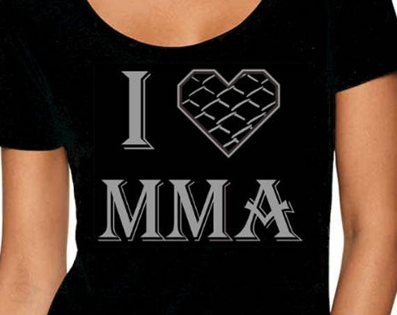 I Heart MMA Female Tee