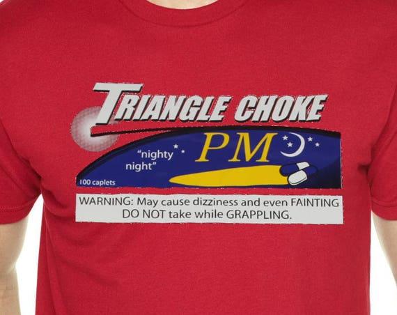 Triangle Choke PM Jiu Jitsu T-Shirt