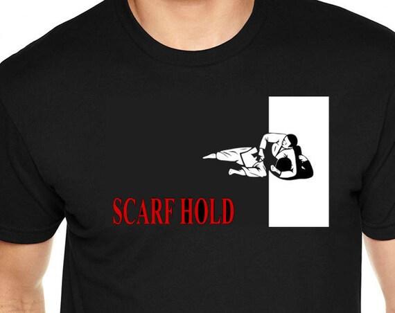 Scarf Hold Jiu Jitsu T-Shirt
