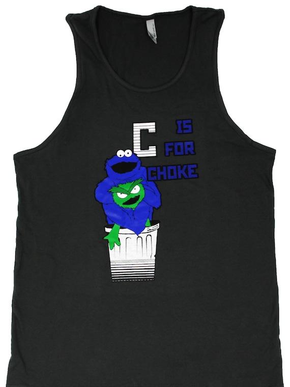 C is for Choke Jiu Jitsu Tank