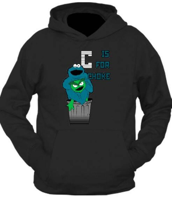 C is for Choke Jiu Jitsu Hoodie