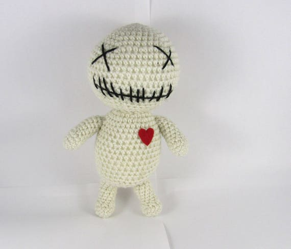 Voodoo Puppe Häkeln Kolben Puppe Amigurumi Voodoo Puppe Etsy
