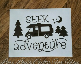 Welcome Class C Camper Decal, class C rv decal, class C decal, Camper Decal, rv decal, class C motorhome, camper decal