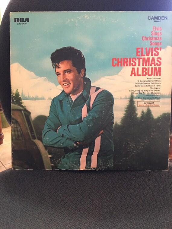 Elvis Christmas Album.Elvis Presley Christmas Album Rca Cal 2428 Camden Mono