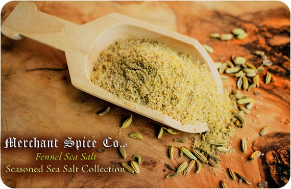 Fennel Sea Salt from the Seasoned Sea Salts Collection by Merchant Spice Co.