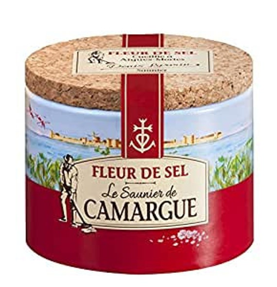 Saunier De Camargue Fleur De Sel Sea Salt 125 g (4.4 oz) from the Salts of the World Collection by Merchant Spice Co.