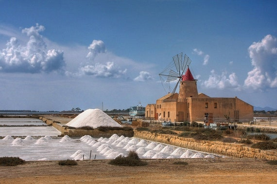 Sicilian Trapani Sea Salt (Fine Grain and Coarse Grain) from the Salts of the Earth Collection by Merchant Spice Co.