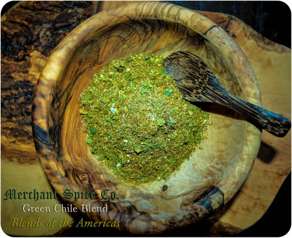 Green Chile Seasoning from the Blends of the Americas Collection by Merchant Spice Co.