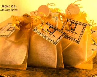 Traditional Mulling Spices from the Gift Set Collection by Merchant Spice Co.