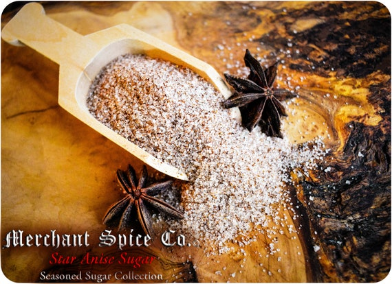 Star Anise Sugar from the Seasoned Sugars Collection by Merchant Spice Co.