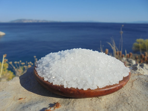 Greek Coarse Sea Salt from the Salterns of Messolonghi from the Salts of the Earth Collection by Merchant Spice Co.