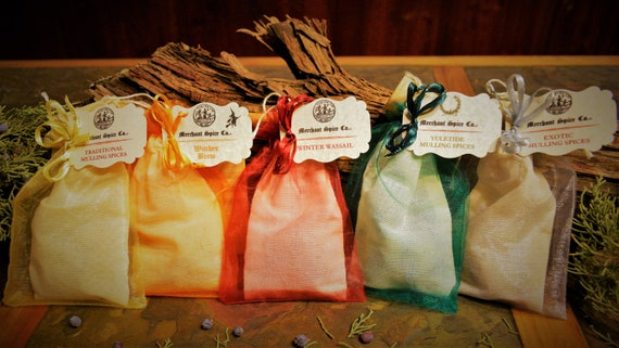 Mulling Spice Gift Set from the Mulling Spice Collection by Merchant Spice Co.