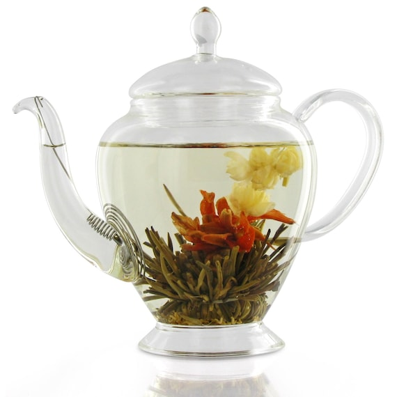 3-Flower Burst Flowering Green Tea from the SpecialTeas Collection by Merchant Spice Co.
