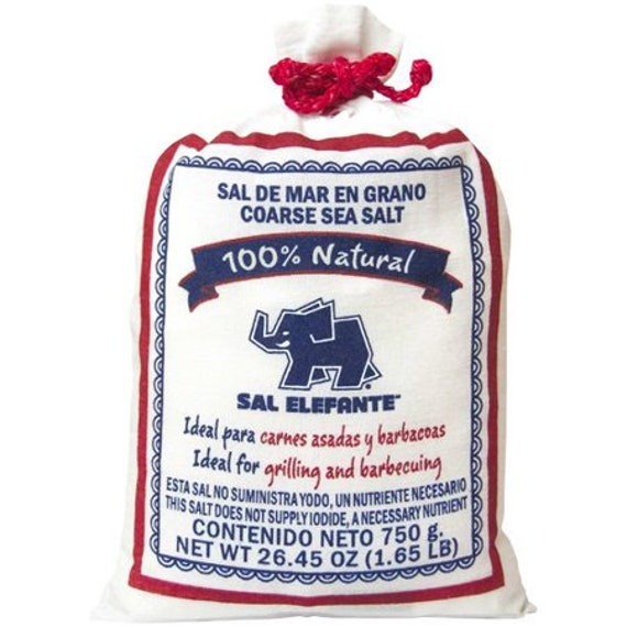 Sal Elefante Coarse Sea Salt from the Salts of the Earth Collection by Merchant Spice Co.