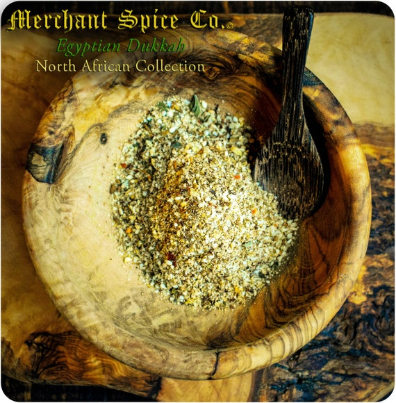 Egyptian Dukkah from the North African Collection by Merchant Spice Co.