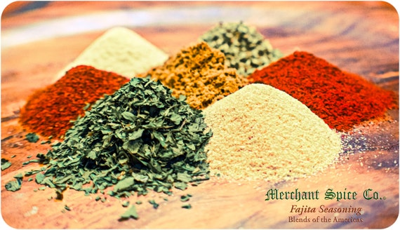 Fajita Seasoning from the Grill, Dry Rub & Marinade Collection by Merchant Spice Co.