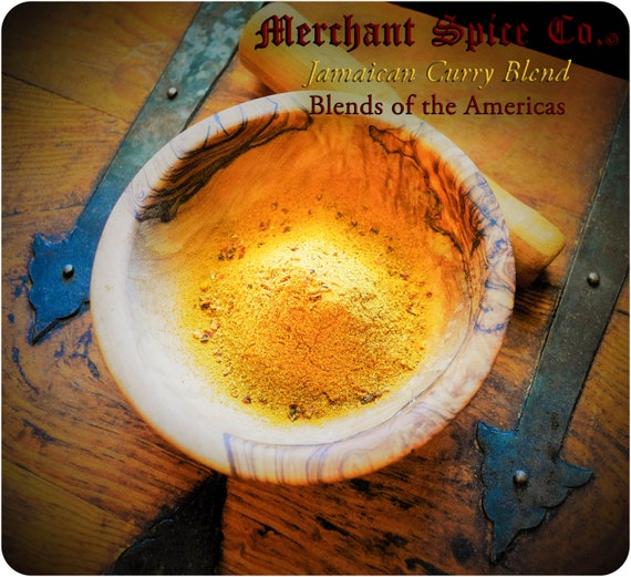 Jamaican Curry Blend from the Blends of the Americas Collection by Merchant Spice Co.