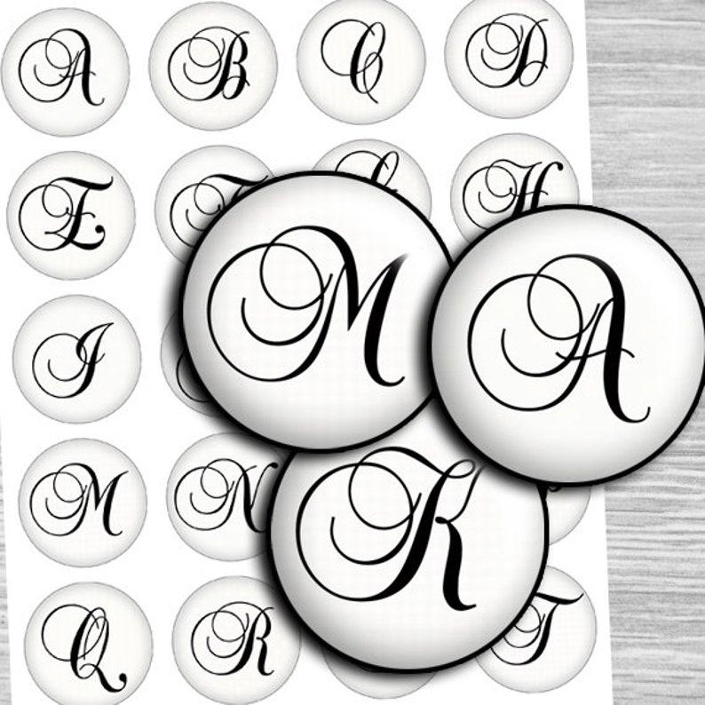 Alphabet Buttons 1.25 /& 1.5